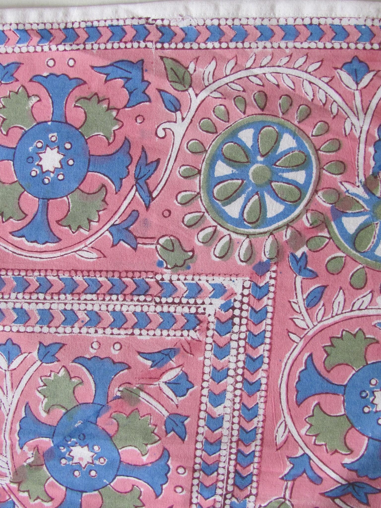 Bedsheet ,  grand foulard  tabelcloth boho living