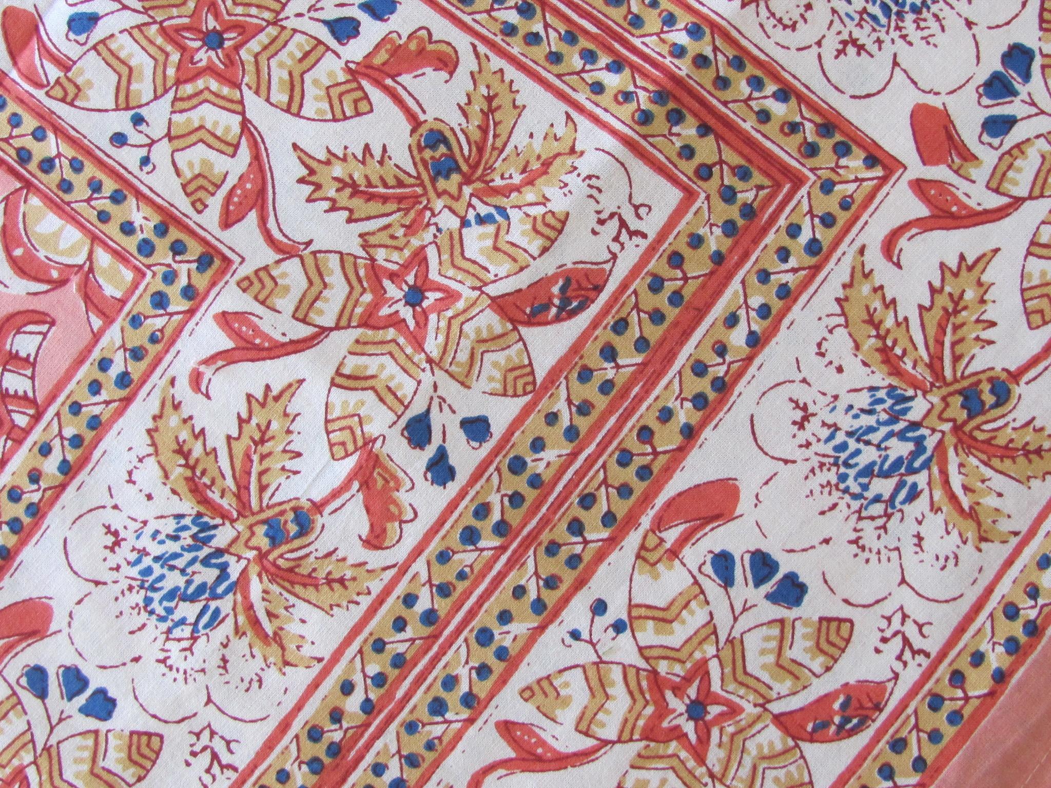 Indiase Beddensprei, Bohemian Slaapkamer, Grand Foulard , tafelkleed, picnickleed