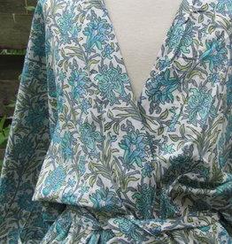 Kimono, ochtendjas, lounge kleding. puur katoen