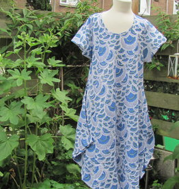 Tunic, Hand printed, Slow fashion