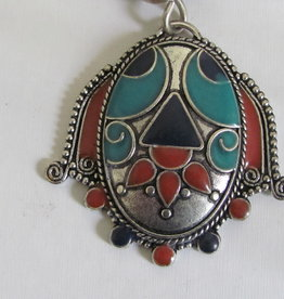 Indian necklace with bohemian arabic dreams