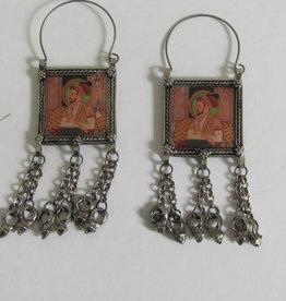 Ethnic earrings Mogul picture