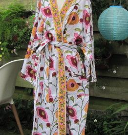 Kimono katoen, ochtendjas, lounge kleding.