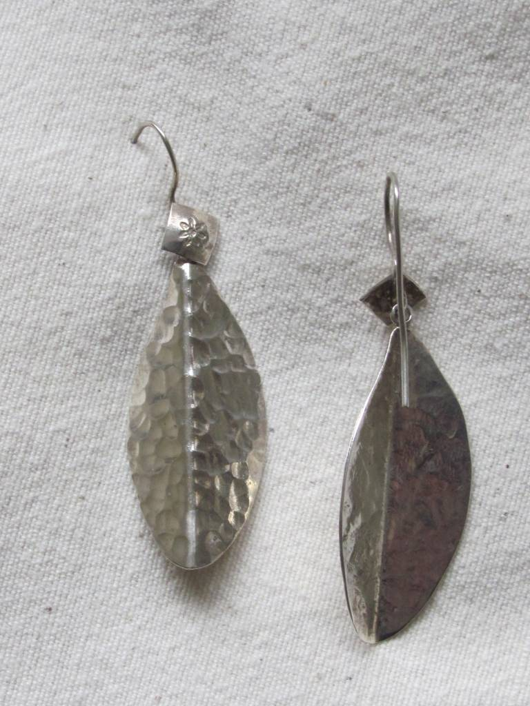 Oorbellen zilver