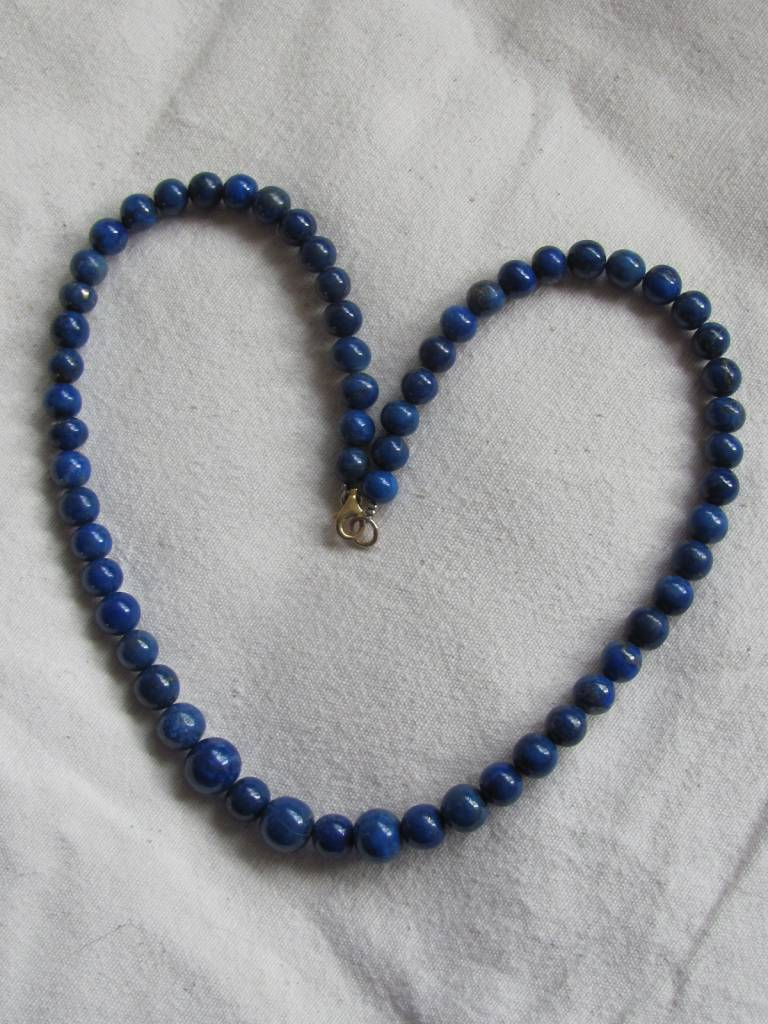 Halsketting lapis lazuli