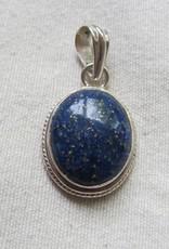 Pendant silver lapis lazuli