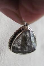 Pendant zilver rutiel kwarts