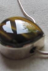 Halsketting zilver tigeroog