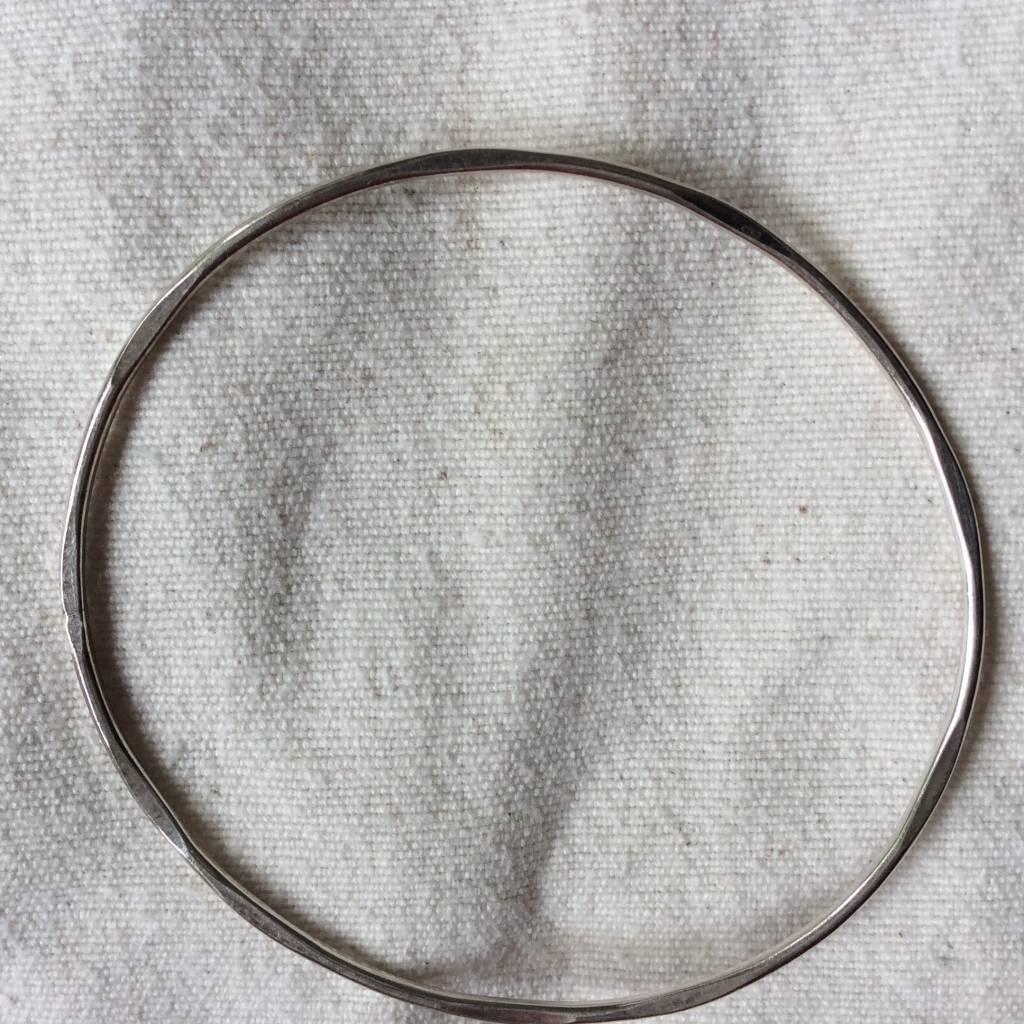 Armband zilver Slave bangle