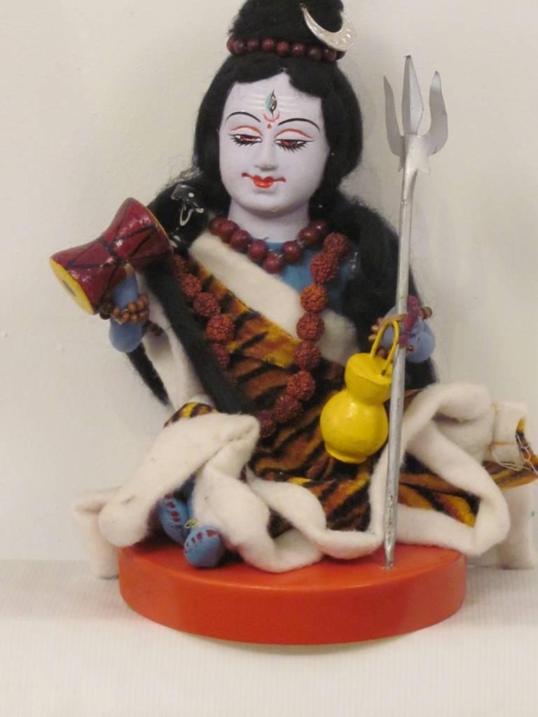 Shiva-ji, deity from textile