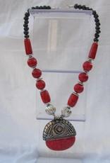 Ketting met grote pendant