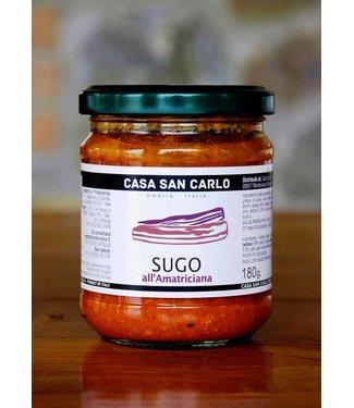 Casa San Carlo Sugo all'Amatriciana - 180 gram