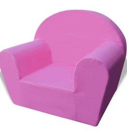 VidaXL Kinderfauteuil roze