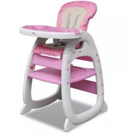 VidaXL Kinderstoel 3-in-1 roze