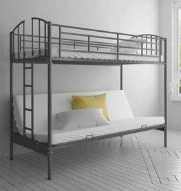 VidaXL Stapelbed met slaapbank voor kinderen