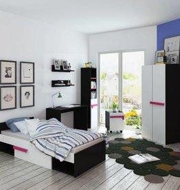 VidaXL Kinderkamer meubelset incl. matras 8-delig roze