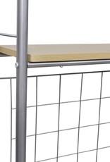 VidaXL Ontbijttafelset met twee stoelen (inklapbaar)