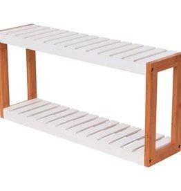 VidaXL Badkamerrekje Bamboe 60x15x28,5 cm