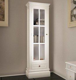 VidaXL Boekenkast met 3 planken hout wit