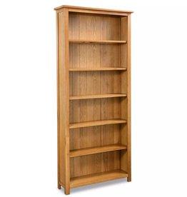VidaXL Boekenkast met 6 planken eikenhout 80x22,5x180 cm