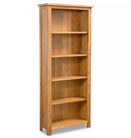 VidaXL Boekenkast 5 planken eikenhout 60x22,5x140 cm