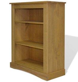 VidaXL Boekenkast grenenhout met 3 planken Corona-stijl 81x29x100 cm