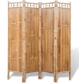 VidaXL VidaXL Kamerscherm bamboe 4 panelen 160x160cm
