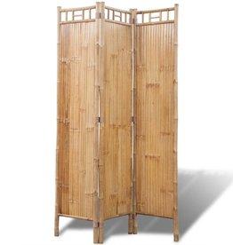 VidaXL VidaXL Kamerscherm bamboe 3 panelen 120x170cm
