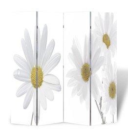 VidaXL Kamerscherm 160 x 180 cm Bloemen