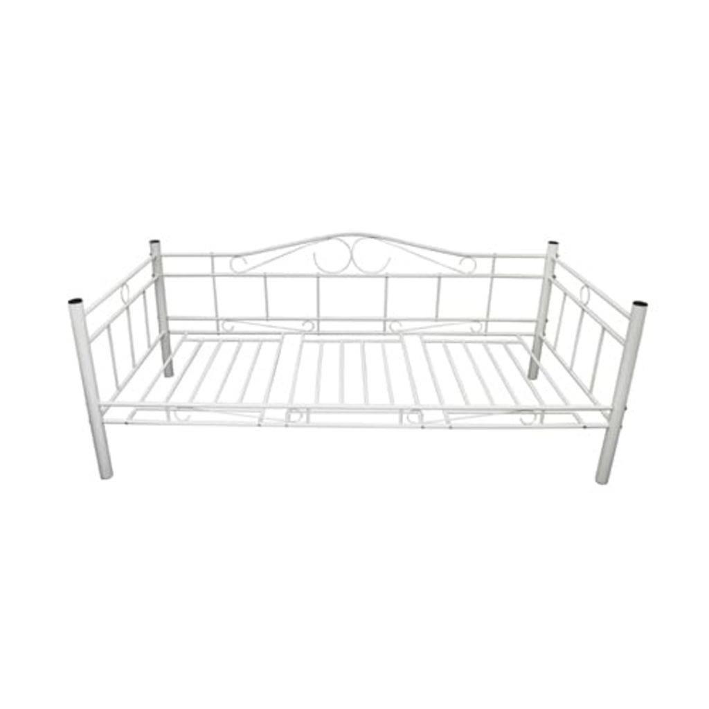 VidaXL Bedbank Sofia 90 x 200 wit