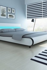 VidaXL Bed hoofdeinde ledlamp 180 cm + memoryfoammatras