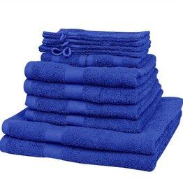 VidaXL Handdoek 100% katoen 500 g/m2 koningsblauw 12 st