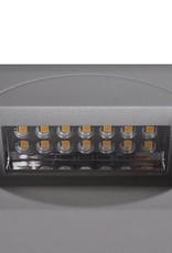 VidaXL LED Verzonken traplamp vierkant 126 x 126 x 65,5 mm 2 st