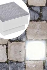 VidaXL LED Verzonken vloerlamp 100 x 100 x 68 mm 2 st