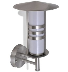 VidaXL Pagode vormige RVS wandlamp