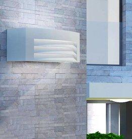 VidaXL Wandlamp buiten grijs aluminium