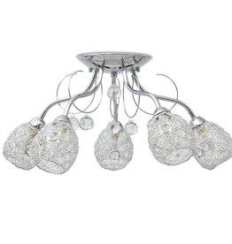 VidaXL Plafondlamp voor vijf G9 lampen 200 W
