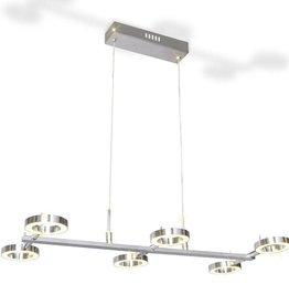 VidaXL LED Plafondlamp met 6 ronde lampen