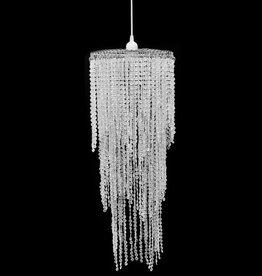 VidaXL Kroonluchter met kristallen 26 x 70 cm