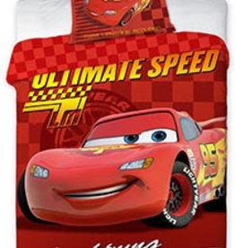 Disney Cars Disney Cars Dekbedovertrek Lightning Mc Queen 140x200cm + kussensloop 63x63cm