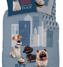 Secret Life of Pets Secret Life of Pets Dekbedovertrek Game On 140 x 200cm - kussensloop 63 x 63cm