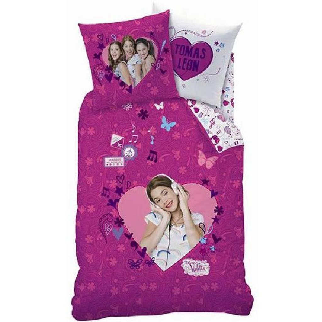 Disney Violetta Disney Violetta  Dekbedovertrek Madrid 140 x 200cm + kussensloop 63x63cm