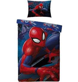 Spiderman - Dekbedovertrek - Eenpersoons - 140 x 200 cm - Multi