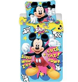 Disne3 Micke3 Mouse Bam - Dekbedovertrek - Eenpersoons - 140 x 200 cm - Multi