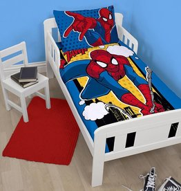 Spider-Man Spider-Man Junior Dekbedovertrek Webhead 120x150cm + kussensloop 62x42cm