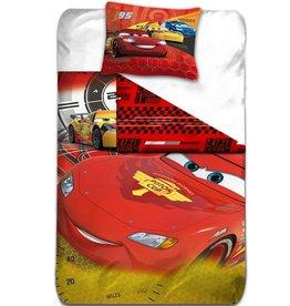 Disney Cars Disney Cars Lightning Mc Queen Dekbedovertrek 140x200cm + kussensloop 63x63cm