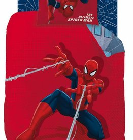 Spider-Man Spider-Man Tower dekbedovertrek 140 x 200cm  + kussensloop 60 x 80 cm
