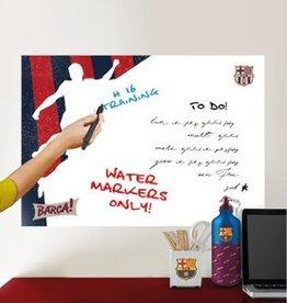 FC Barcelona White Board pla3er - Muursticker - 45 x 65 cm - Multi