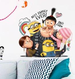 Minions Minions  Muursticker Despicable 3 Family Tree