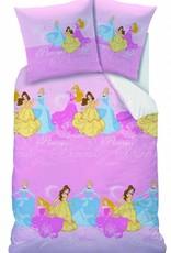 Disney Princess Princess Dekbedovertrek New Haven 140x200cm + kussensloop 63x63cm